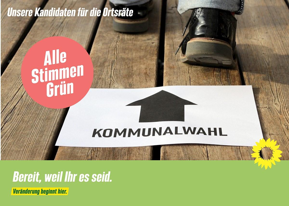 Grüne Kandidierende für die Ortsräte in Moormerland