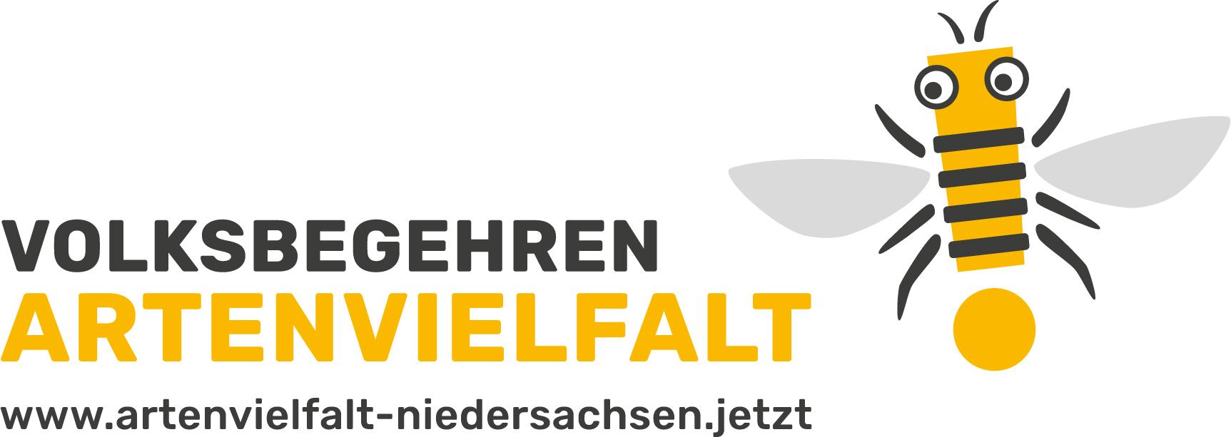 Logo Volksbegehren Artenvielfalt